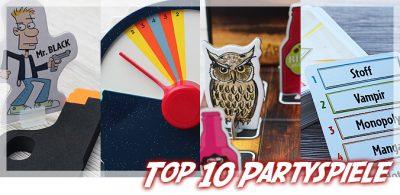 Partyspiele Top 10