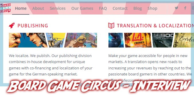 Board Game Circus - Interview