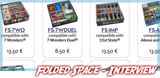 Brettspiel-Inserts, Kickstarter, Ideen-Umsetzung und mehr im Interview mit Folded Space