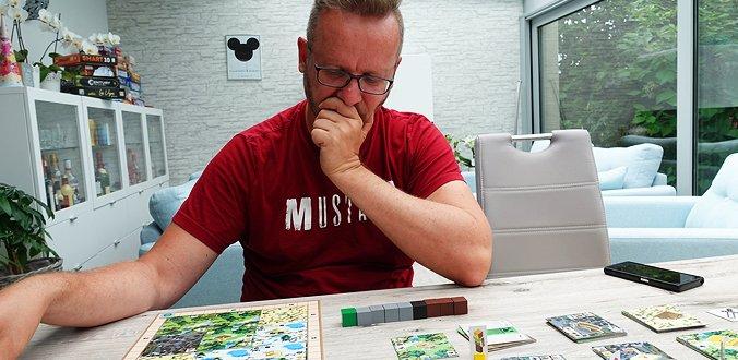 Man muss schon gut vorausplanen in Minecraft: Builders & Biomes