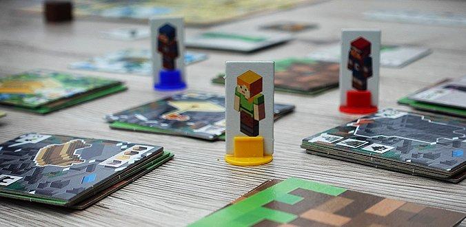 Standees in Minecraft: Builders & Biomes