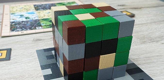 Holzklötzchen in Minecraft: Builders & Biomes