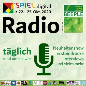 SPIEL.digital Beeple Messeradio