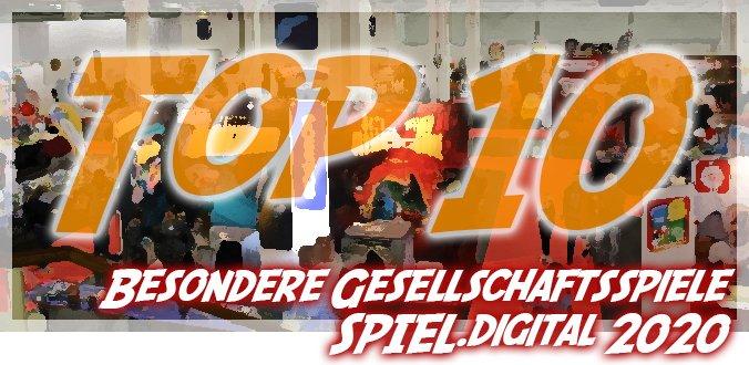 10 besondere Gesellschaftsspiele auf der SPIEL.digital 2020