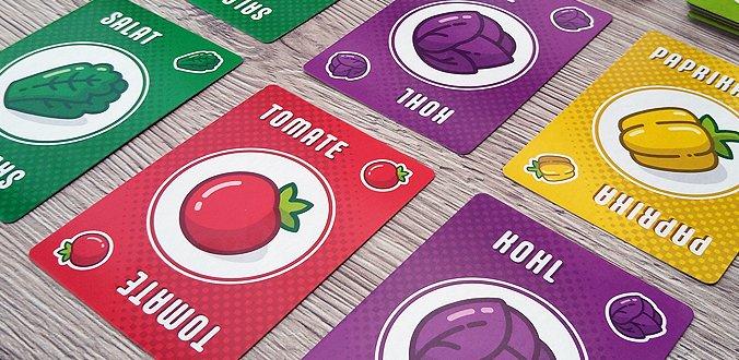 Punktesalat Kartenspiel Review Gemüse