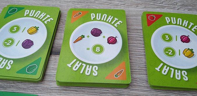 Punktesalat Kartenspiel Review Wertung