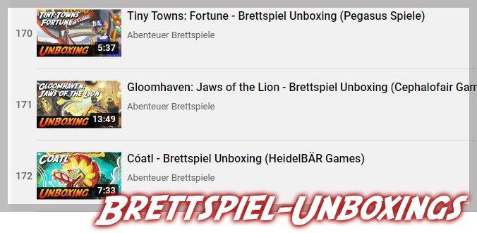 Unboxing-Videos von SPIEL.digital Neuheiten