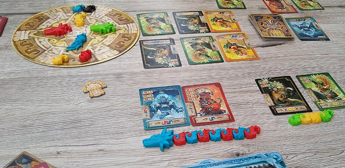 Spielmaterial - Coatl Review