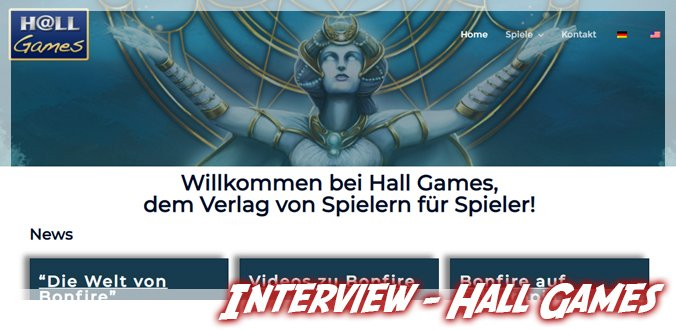 Hall Games Interview
