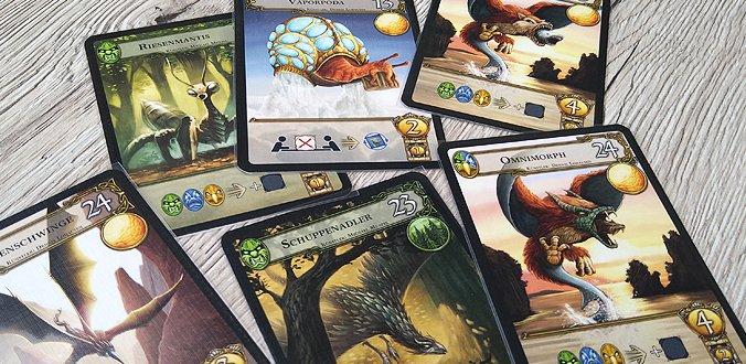 Schöne Monster-Karten in Monster Expedition