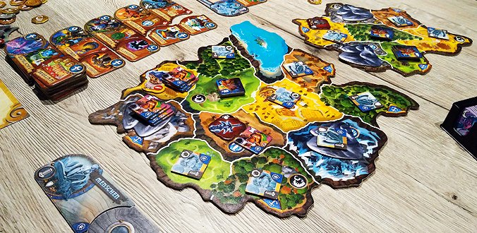 Small World of Warcraft - Spielmaterial