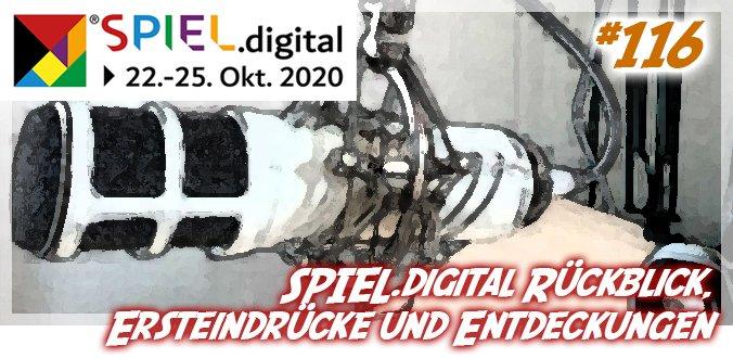 SPIEL.digital Rückblick, Ersteindrücke und Entdeckungen - Abenteuer Brettspiele Podcast 116