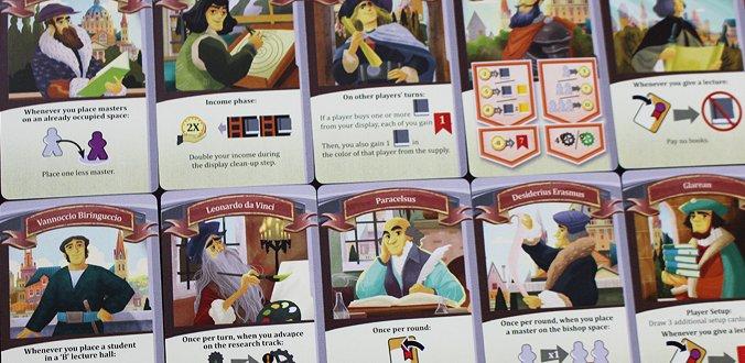 Alma Mater - Die verschiedenen Kanzler-Karten