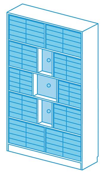 Brettspielzubehör - Schrank Exakt von Kapplex