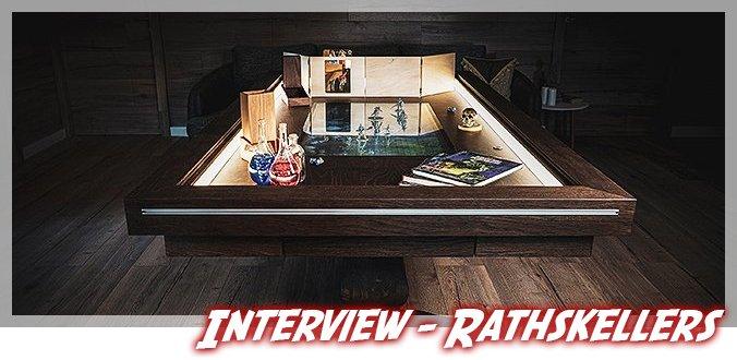 Rathskellers Brettspieltische – Interview über Entstehung, Besonderheiten und News