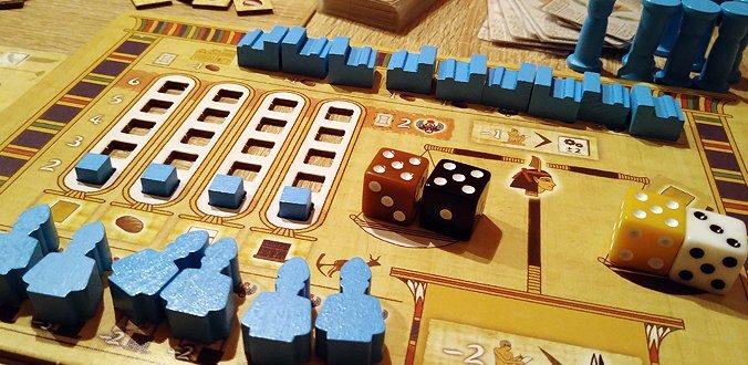 Tekhenu - Das Spielertableau