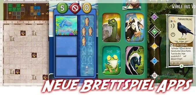 Paper Tales, Flügelschlag, Similo, Ozeane … Neue Brettspiel Apps und digitale Brettspiele