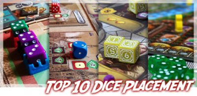Top 10 Dice Placement Brettspiele
