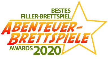 Bestes Filler-Brettspiel 2020 - Abenteuer Brettspiele Awards