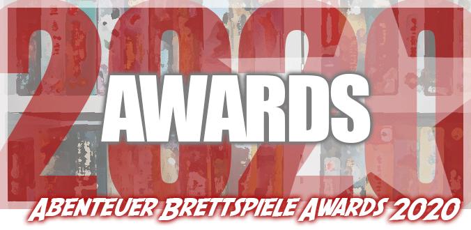 Abenteuer Brettspiele Awards 2020 – Die 8 Gewinner