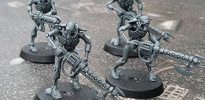 Warhammer 40K – Necrons aus der Starter Box