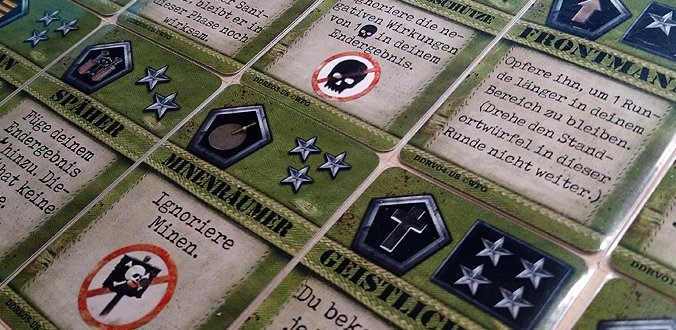 D-Day Dice Second Edition - Karten