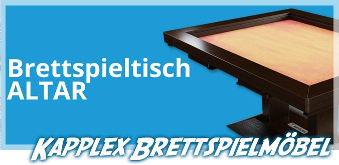 Kapplex Brettspieltisch ALTAR und weitere Brettspielmöbel aus Deutschland