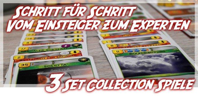 Set Collection Brettspiele - 3 Schritte vom Einsteiger zum Experten