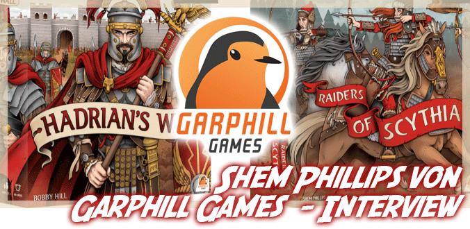 Shem Phillips von Garphill Games über Spieleentwicklung, Neuheiten, Kreativität …