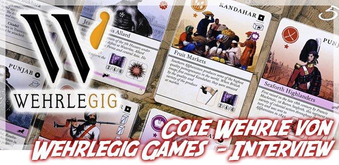 Cole Wehrle über Root-Einstieg, John Company SE, Spiele-Entwicklung online und mehr