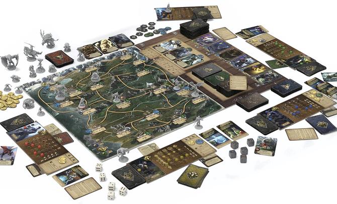 The Witcher: Old World - Spielplan