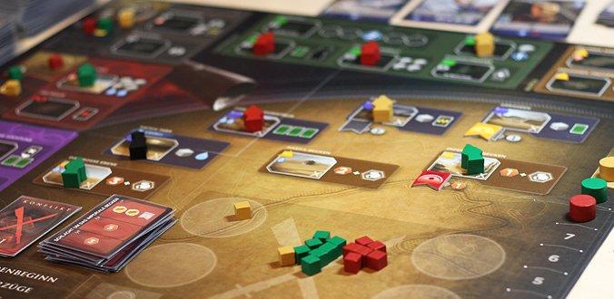 Dune: Imperium Spielbrett