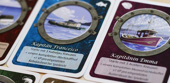 Fleet: The Dice Game - Kapitän-Karten