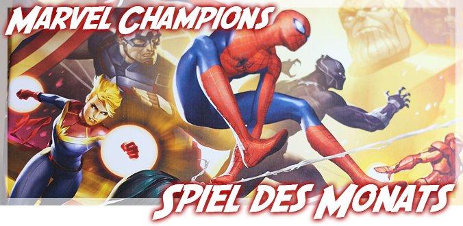 Marvel Champions - Spiel des Monats