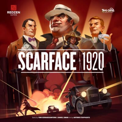 Scarface 1920 Box Cover