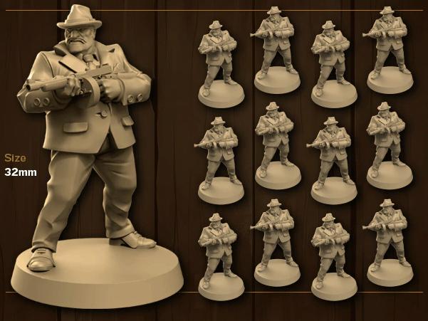 Scarface 1920 - Miniaturen