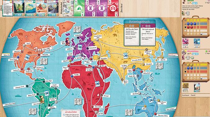Trekking the World - BoardGameArena