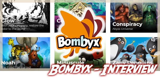 Besondere Brettspiele, schöne Illustrationen, Glow und mehr - Bombyx Interview