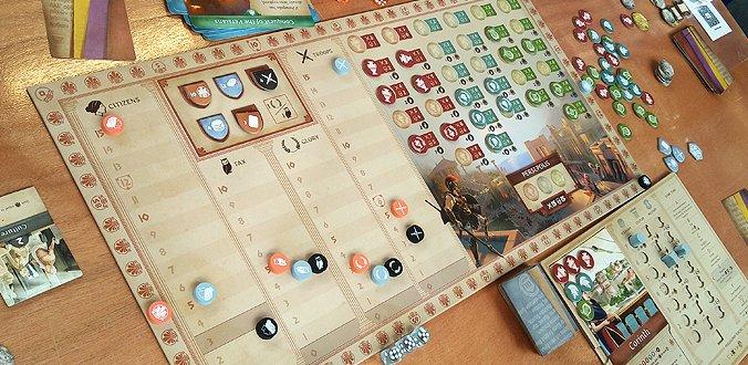 Khôra: Rise of an Empire - Spielbrett